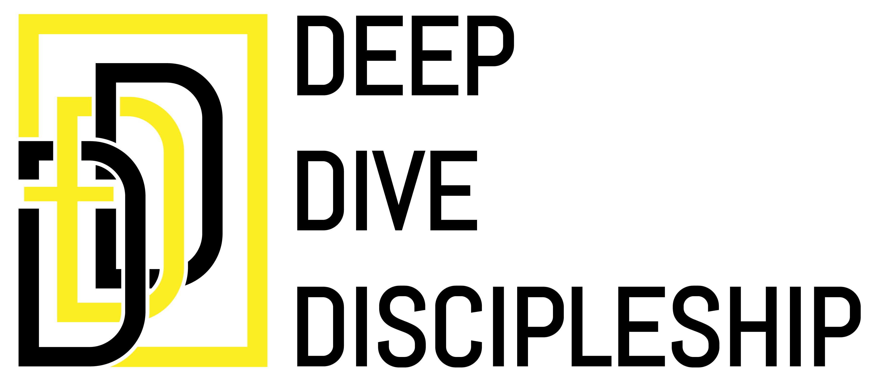 Deep Dive Discipleship